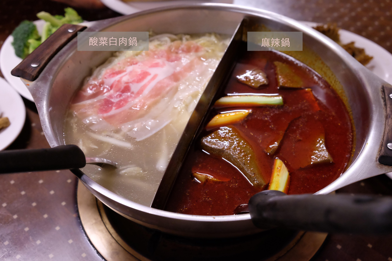 【中壢】麻辣鴛鴦鍋/梁記火鍋/冬天就是要吃麻辣鍋火鍋啊